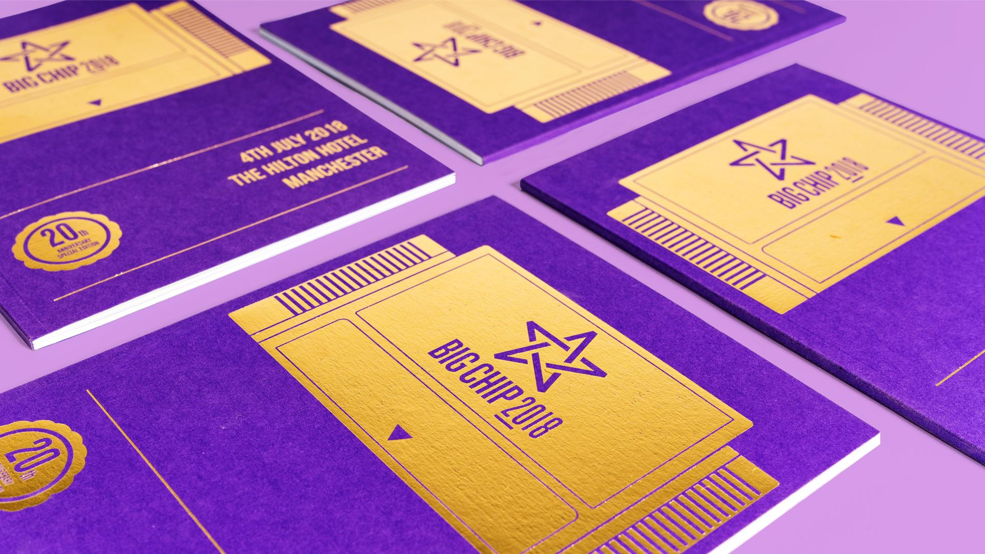 Awards Event Printed Brochure and Booklet