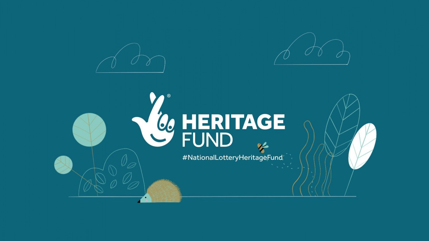 National Lottery Heritage fund branded closing shot