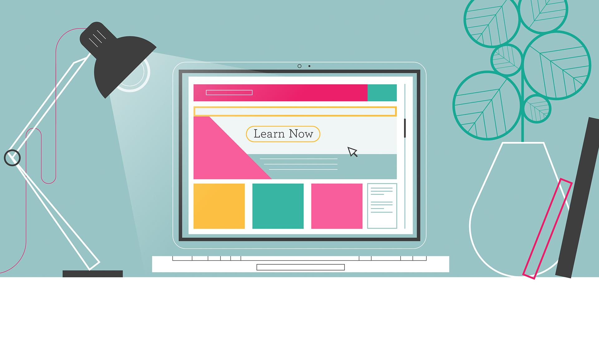 Open Study College animation for their website and billboards