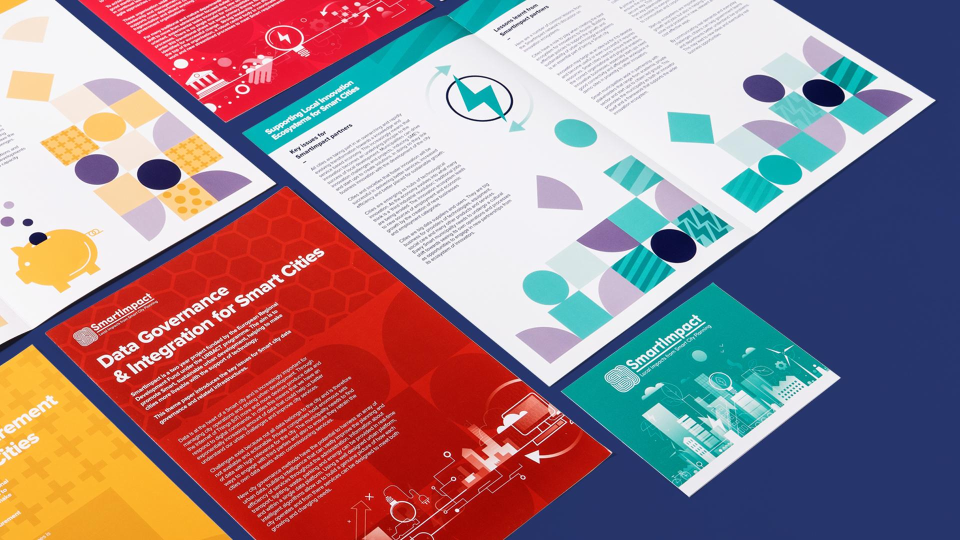 SmartImpact branded print materials for the event