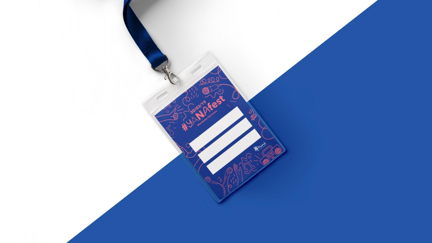 Yana branded and designed event pass