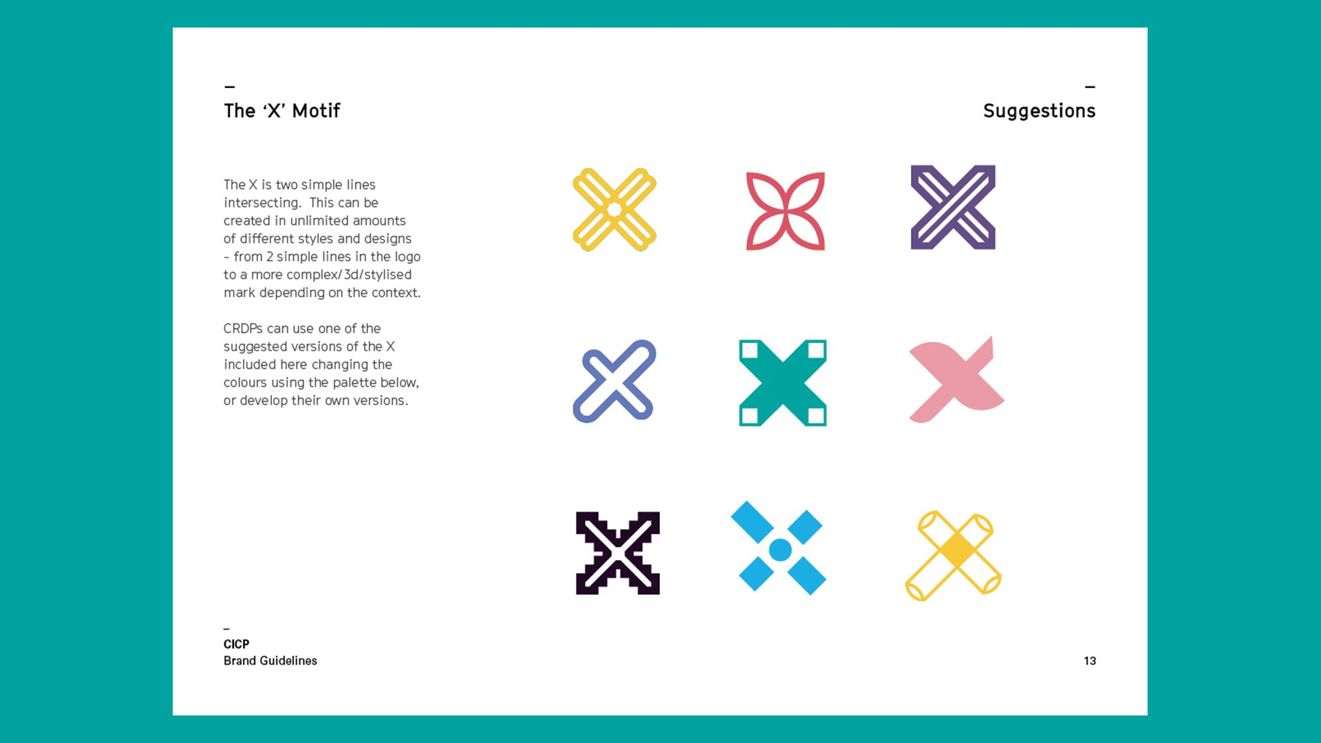 Branding essentials brand guidelines how to use motif
