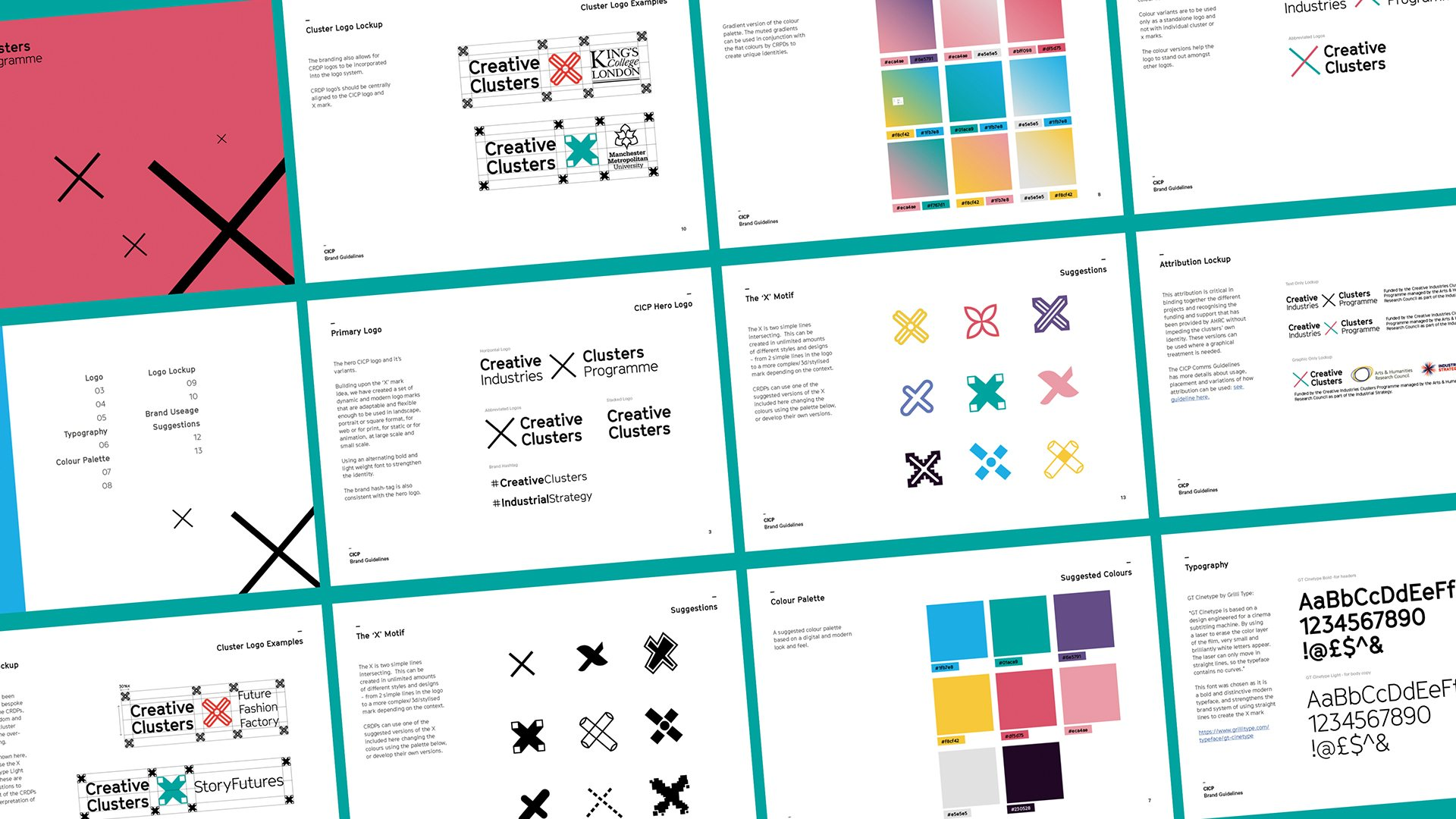 CICP brand guidelines summary and branding